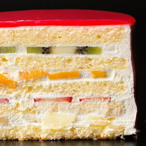 デコレーション苺の可愛すぎる 萌え断ケーキ 西内花月堂 萌えるほどに可愛い断面のケーキ かわいい 冷凍便配送|bokunotamatebakoya|02
