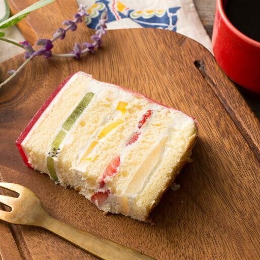 デコレーション苺の可愛すぎる 萌え断ケーキ 西内花月堂 萌えるほどに可愛い断面のケーキ かわいい 冷凍便配送|bokunotamatebakoya|03