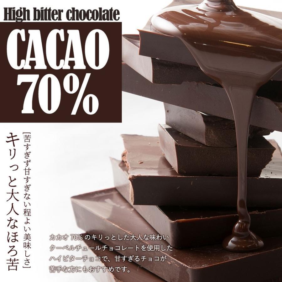 ホワイトデー 2021 お返し 義理 チョコ 子供 プチギフト ハイビター チョコレート 幸せとショコラ (中) スクエア型 ミニサイズ ギフト スイーツ 送料無料 bokunotamatebakoya 06