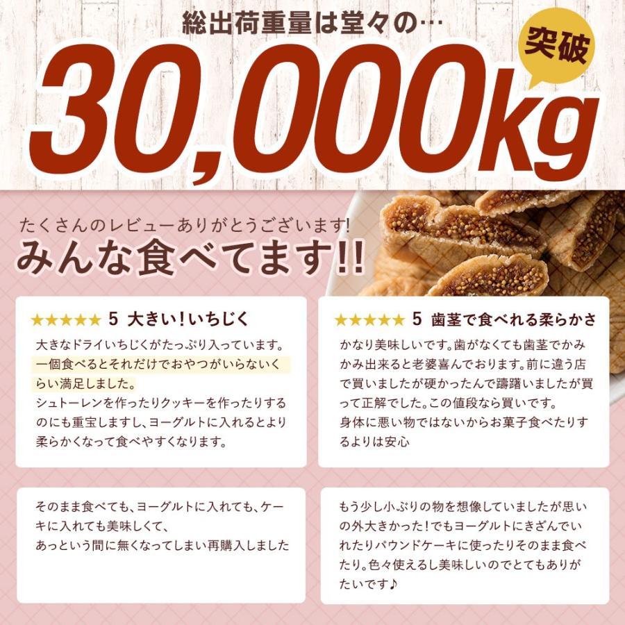 ドライいちじく いちじく 850g [ ドライフルーツ  無添加 砂糖不使用 送料無料 トルコ産 ] 1kgより少し少ない850g セール SALE bokunotamatebakoya 03