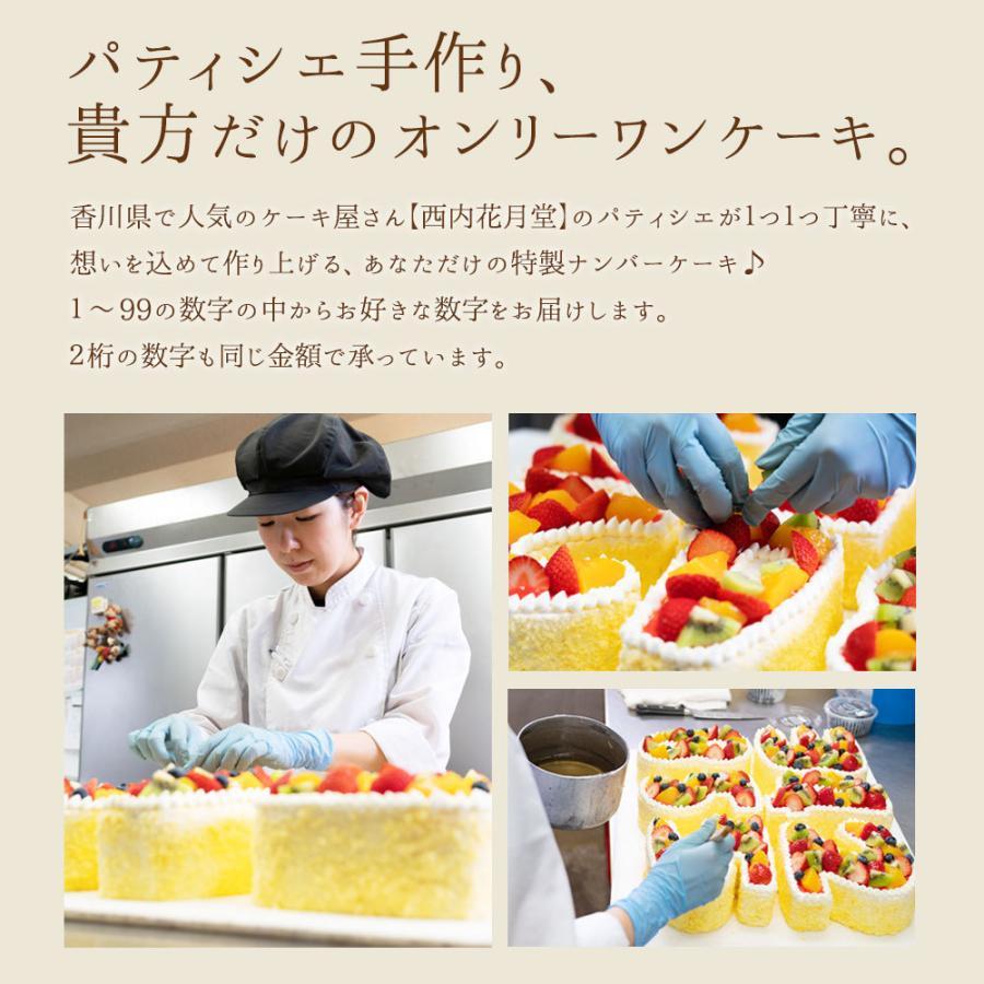 手作り パティシエ特製 数字ケーキ 誕生日 バースデー スイーツ お取り寄せ ギフト アニバーサリー お取り寄せ|bokunotamatebakoya|12