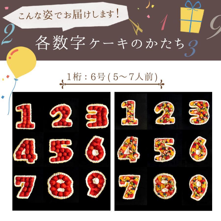 手作り パティシエ特製 数字ケーキ 誕生日 バースデー スイーツ お取り寄せ ギフト アニバーサリー お取り寄せ|bokunotamatebakoya|13
