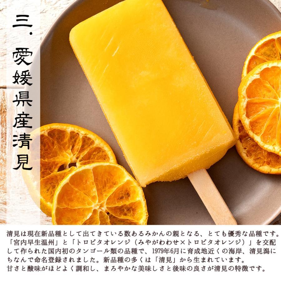 アイス ギフト アイスキャンディ 愛媛県産 みかん 100% 太陽のアイス 冷やしみかん 15本 送料無料 無添加|bokunotamatebakoya|13