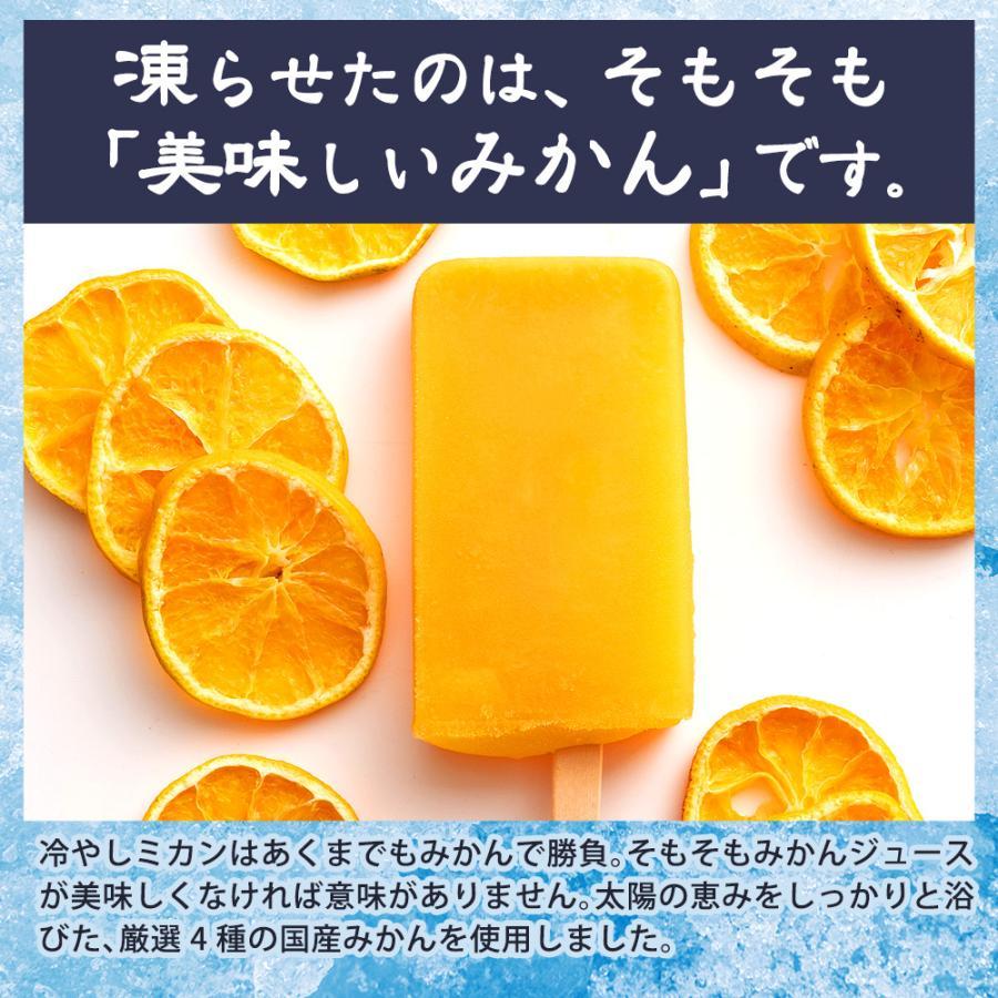 アイス ギフト アイスキャンディ 愛媛県産 みかん 100% 太陽のアイス 冷やしみかん 15本 送料無料 無添加|bokunotamatebakoya|10
