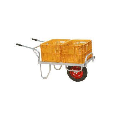 ハラックス ハラックス ハラックス アルミ製平形1輪車 CN-40D 08d