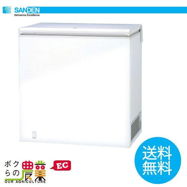 送料無料 サンデン 冷凍ストッカー チェストフリーザー SH-F190X
