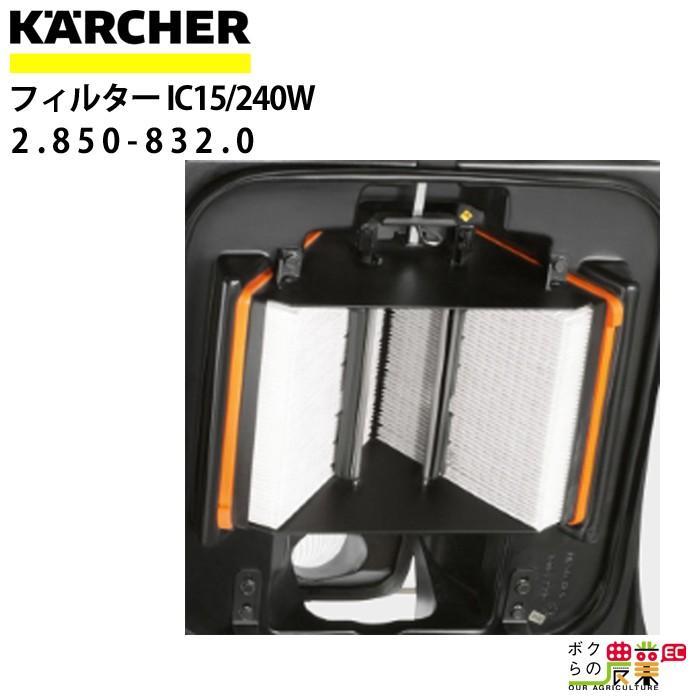 ケルヒャー フィルター IC 15/240 W用 2.850-832.0