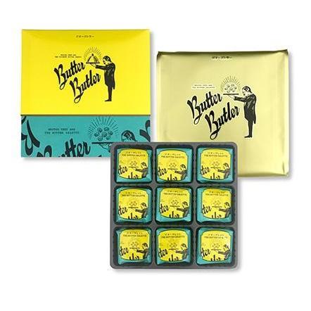 バターバトラー バターガレット ButterButler 18個入り 東京土産 贈り物  袋付き ギフト|bon-appetit-world