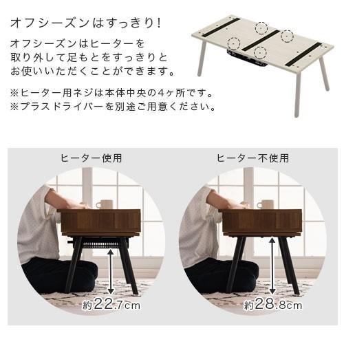 化粧台 ドレッサー テーブル おしゃれ 鏡台 ミラー コンパクト ローテーブル 木製 北欧 ガラス 白 センターテーブル メイク台 コスメ台 一面鏡 かわいい 幅80cm|bon-like|16