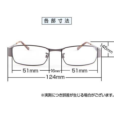 ブルーライトをカット 医療用フィルターレンズ PC用 眼鏡 めがね パソコンメガネ サプリサングラス FLEX MA-0003[スクエア](男性用)|bonita|02