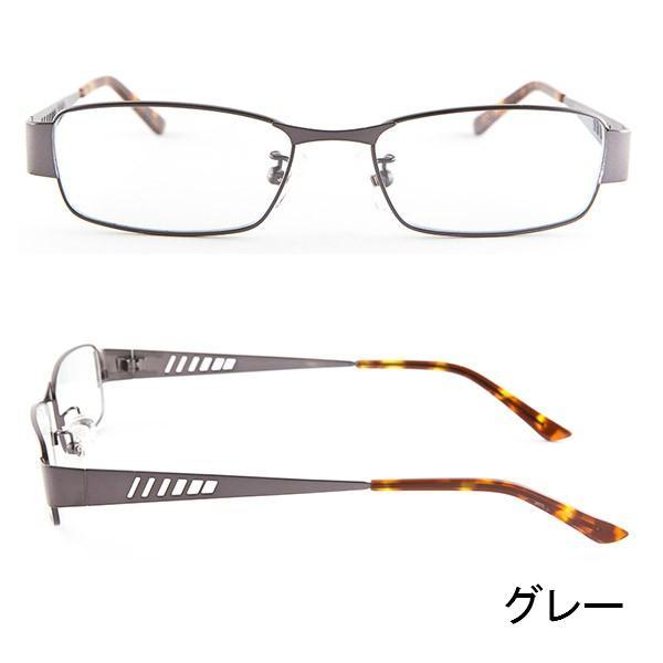 ブルーライトをカット 医療用フィルターレンズ PC用 眼鏡 めがね パソコンメガネ サプリサングラス FLEX MA-0003[スクエア](男性用)|bonita|04