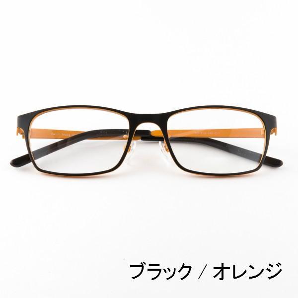 ブルーライトをカット 医療用フィルターレンズ PC用 眼鏡 めがね パソコンメガネ サプリサングラス Vision Moda(VM-0038)[ボストン](男女兼用) bonita 03