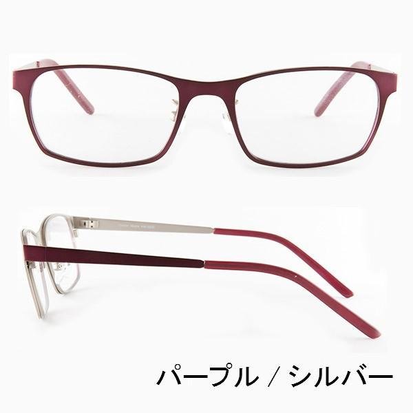ブルーライトをカット 医療用フィルターレンズ PC用 眼鏡 めがね パソコンメガネ サプリサングラス Vision Moda(VM-0038)[ボストン](男女兼用) bonita 08