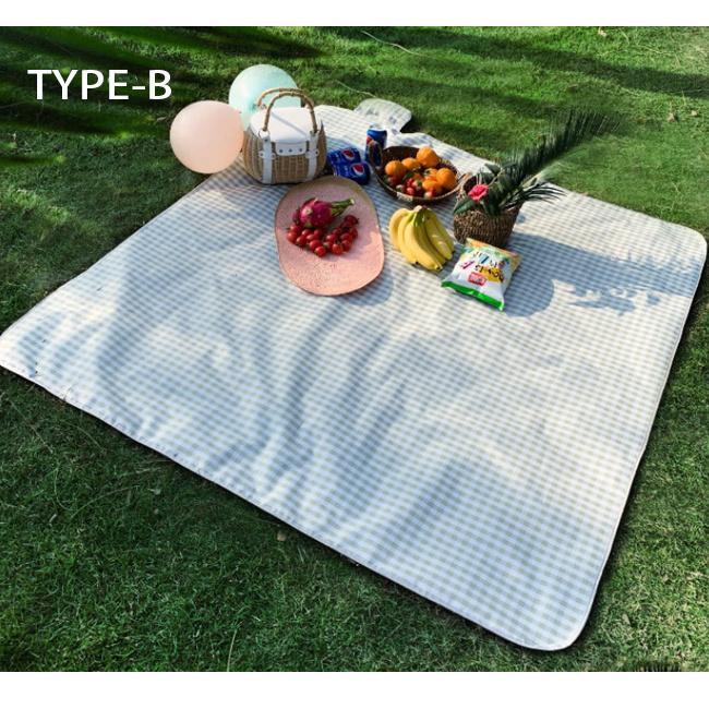 レジャーシート 防水 大きい 大判 200x200 厚手 クッション コンパクト 持ち手付き 持ち運びに便利 洗える|bonito|18
