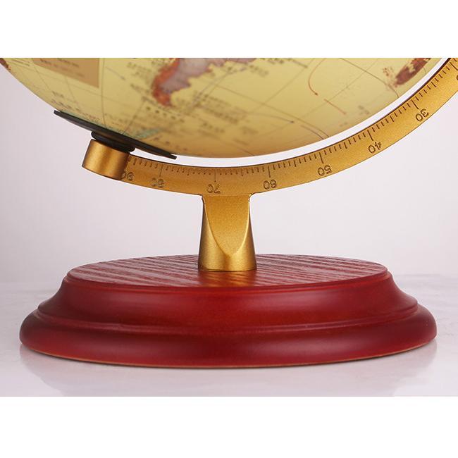 即納 地球儀 led スタンドライト インテリア アンティーク 英字表記 木製台座 おしゃれ オーナメント 卓上|bonito|14
