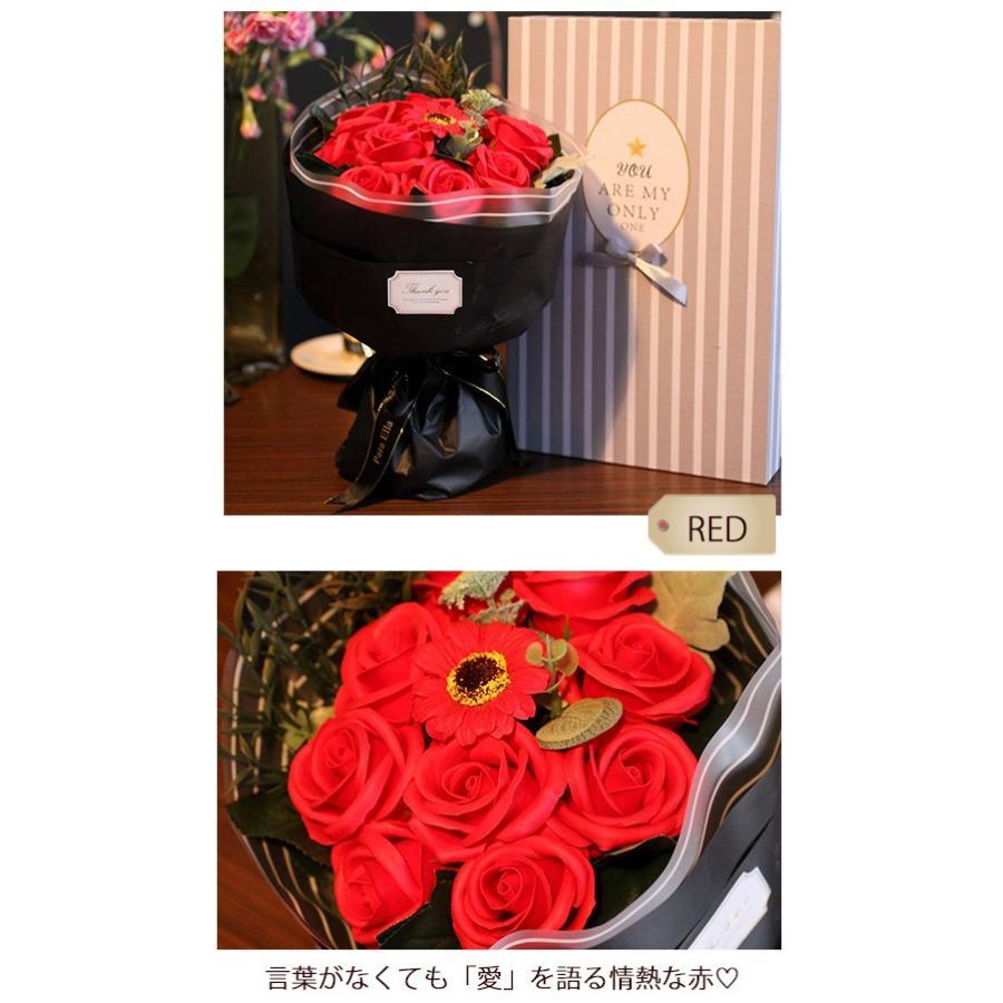 送料無料 母の日 2021 ギフト ソープフラワー ボックスフラワー 造花 フラワー 石鹸花 枯れない花 プ|bonito|16