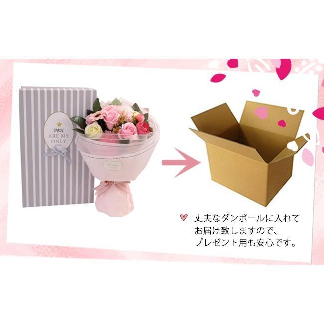 送料無料 母の日 2021 ギフト ソープフラワー ボックスフラワー 造花 フラワー 石鹸花 枯れない花 プ|bonito|18