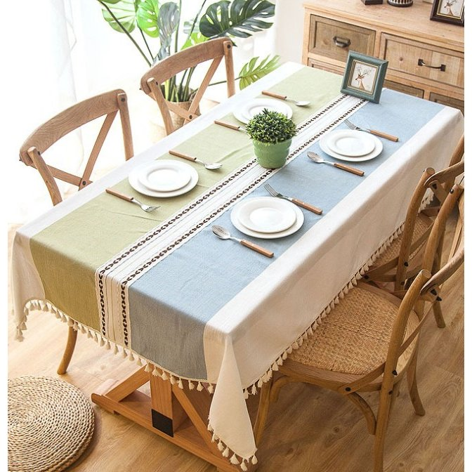 送料無料 テーブルクロス 食卓カバー テーブルマット 食卓 カバー 長方形 シンプル 花柄 撥水 撥油加工 各サイズ|bonito|06