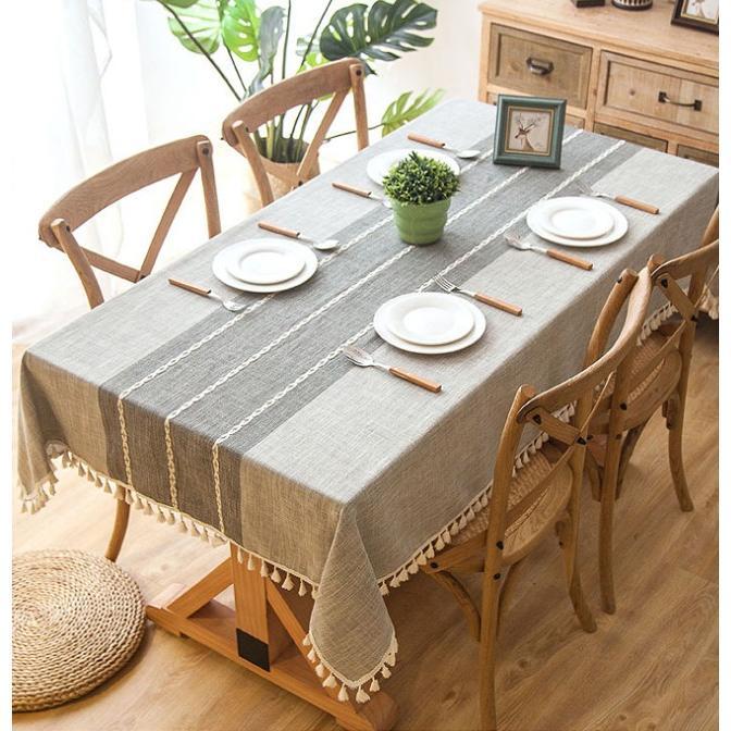 送料無料 テーブルクロス 食卓カバー テーブルマット 食卓 カバー 長方形 シンプル 花柄 撥水 撥油加工 各サイズ|bonito|07