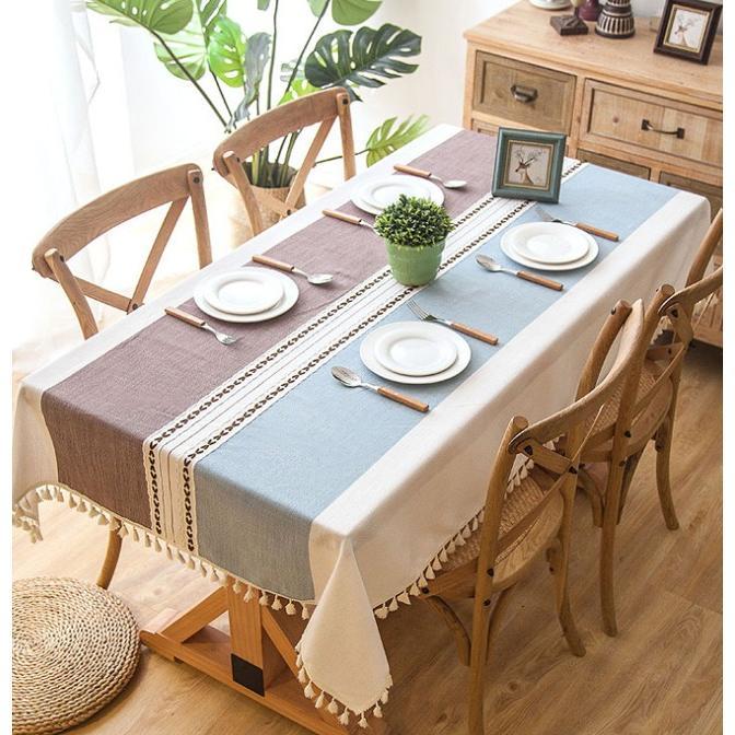 送料無料 テーブルクロス 食卓カバー テーブルマット 食卓 カバー 長方形 シンプル 花柄 撥水 撥油加工 各サイズ|bonito|08
