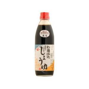 ヤマヒサ 頑固本生濃口醤油 500ml