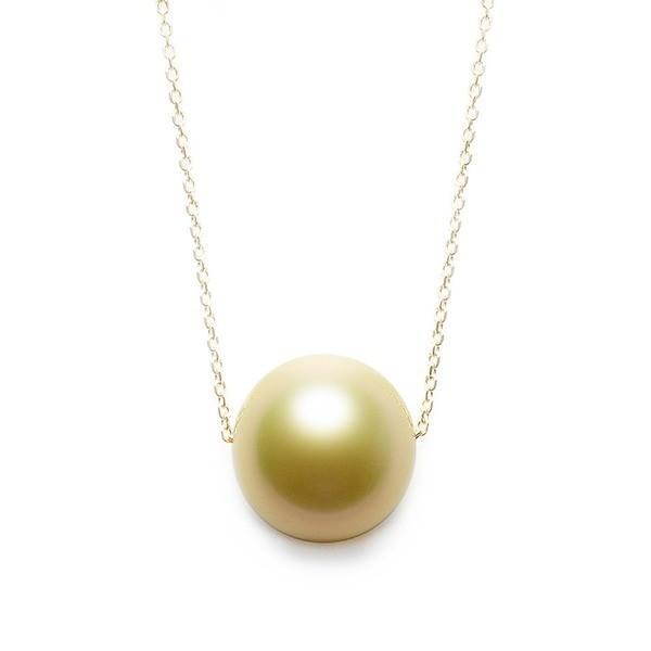 激安単価で ゴールド パール ネックレス K18 イエローゴールド 奄美大島産 白蝶貝 11mm パールネックレス 真珠 ペンダント, 神戸天然素材 ccb425f6