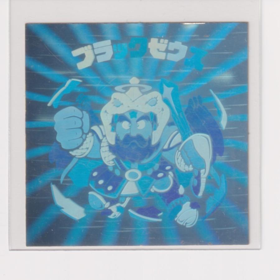 ビックリマン チョコ版 美品  第06弾 ヘッド 01 ブラックゼウス (画像あり)|bonzintei