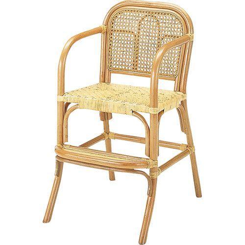 籐家具 ラタン 子供用椅子 子供用イス 子供用イス 子供用ダイニングチェア 椅子 チェアー アームチェア パーソナルチェア 籐子供椅子 ハイ s566