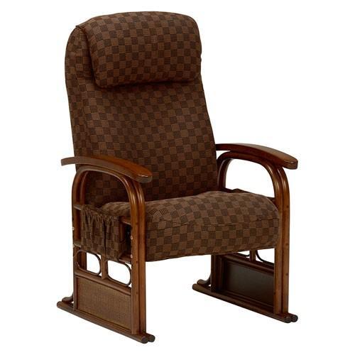 籐リクライニング高座椅子 籐リクライニング高座椅子 RZ-1251BR hg-rz-1251br
