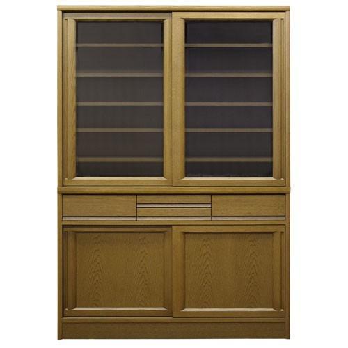 食器棚 ローリエ 幅120cm高さ175cm MO ミディアム 514949