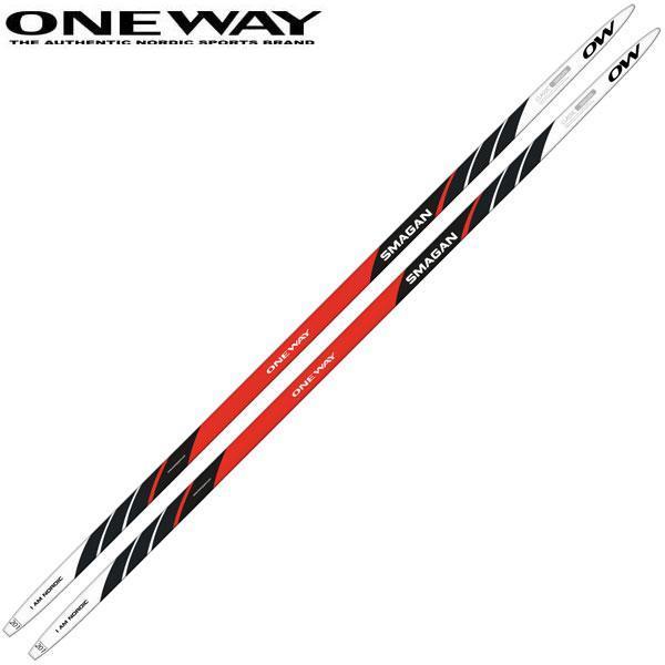 ONE WAY ワンウェイ SMAGAN CLASSIC 180cm 赤 メンズ 大人用 クロスカントリースキー 板のみ