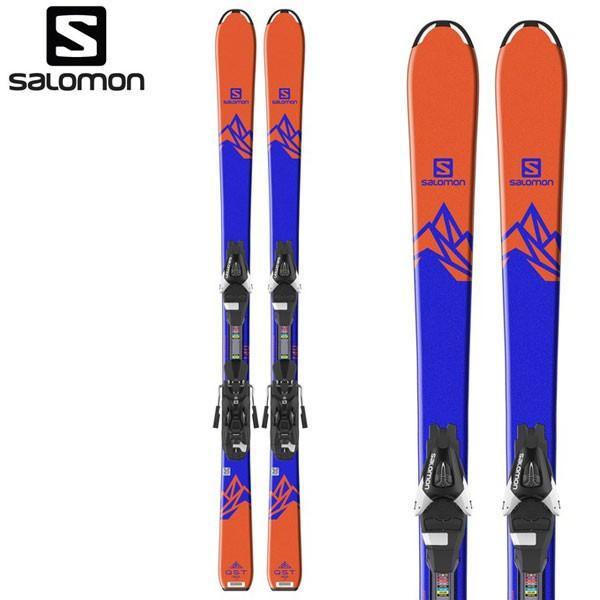 18-19 サロモン ジュニアスキーセット SALOMON QST MAX JR M +L7 130/140/150 キッズ 子供 ビンディング付 2点セット