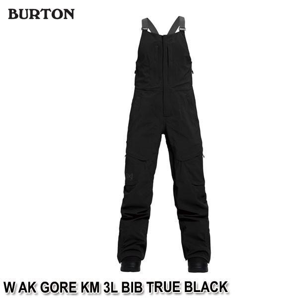 バーゲンで 特典付 19-20 バートン BURTON W AK GORE KM 3L BIB TRUE BLACK スノーウェア ビブパンツ レディース 女性用 2020 日本正規品 予約, 大迫町 f15f46bf