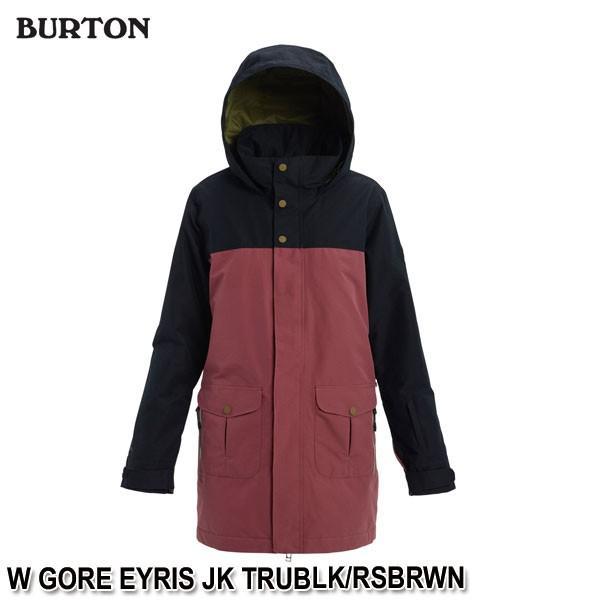 特典付 19-20 バートン BURTON W GORE EYRIS JK TRUBLK/RSBRWN スノーウェア ジャケット レディース 女性用 2020 日本正規品 予約