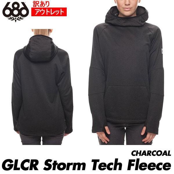 訳あり アウトレット 18 シックスエイトシックス 686 Women's GLCR Storm Tech Fleece ストームテック フリース 撥水パーカー ウェア レディース