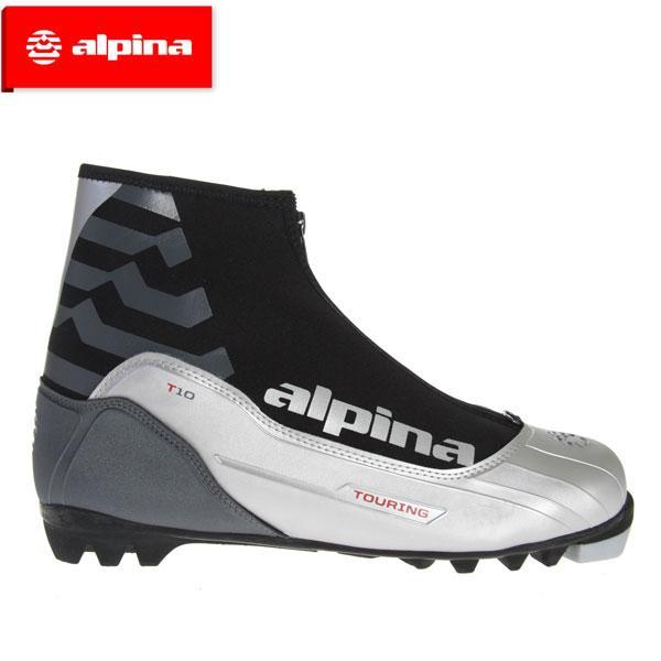 アルピナ クロスカントリーブーツ alpina T10 5044-1K XC 銀/黒 アダルト ユニセックス 大人用 シューズ クロカン