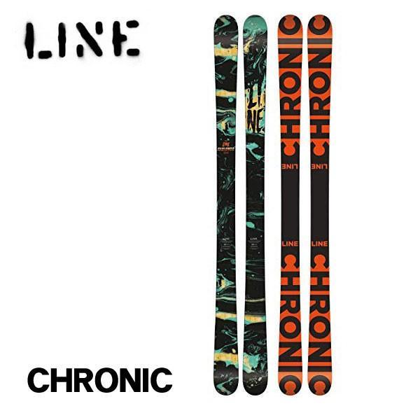 50%OFF ライン スキー板 クロニック Line CHRONIC 185cm 板のみ FLAT 送料無料 日本正規品