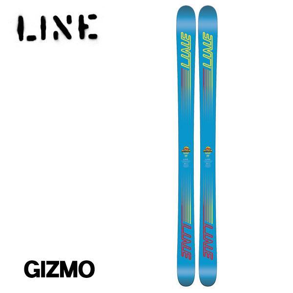 ライン ギズモ LINE GIZMO 板のみ ジュニア キッズ スキー