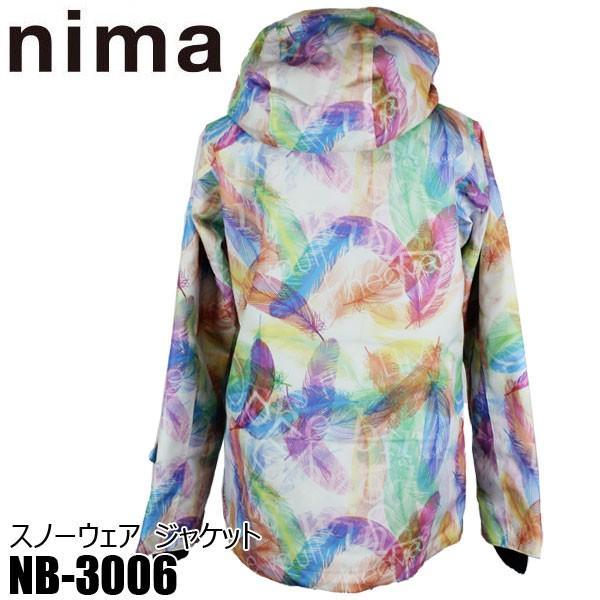 ニマ レディース スノボ ジャケット スノーボード スキー スノーウェア nima NB-3006 21P S/M/L 女性用 ウィメンズ boomsports-ec 02
