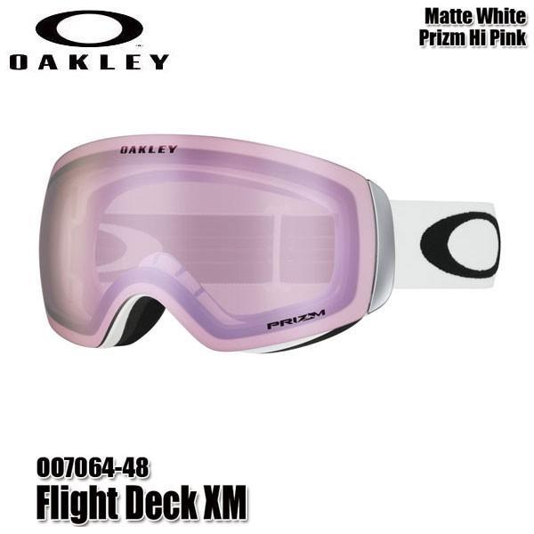 19-20 オークリー ゴーグル フライトデッキXM OAKLEY Flight Deck XM OO7064-48 スキー スノーボード 2020
