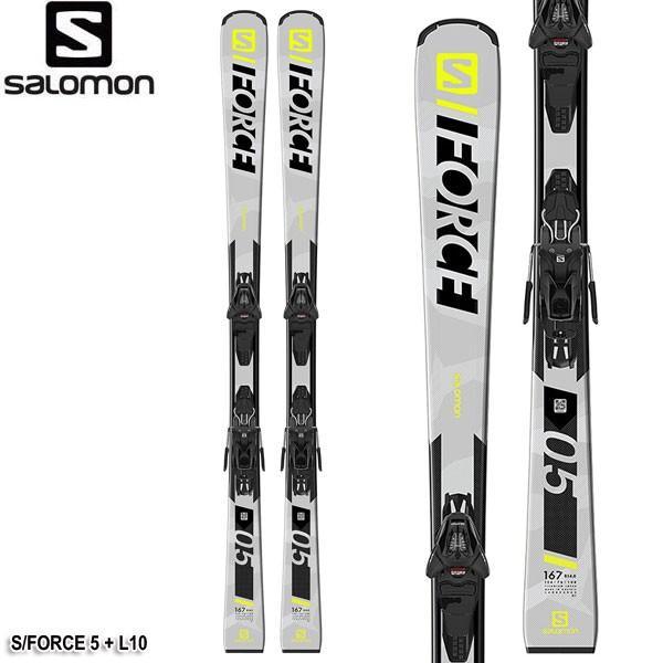 新しい到着 19-20 スキー板 サロモン ビンディング付 スキーセット メンズ SALOMON S/FORCE 5 + L10 メンズ ユニセックス スキー板 ビンディング付 2点セット オールラウンド 送料無料, 奥尻郡:dd426918 --- airmodconsu.dominiotemporario.com