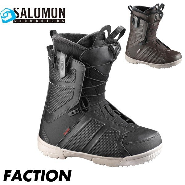 17-18 サロモン ファクション SALOMON FACTION メンズ スノーボード ブーツ スノボ 男性用 スピードレース 日本正規品 2018