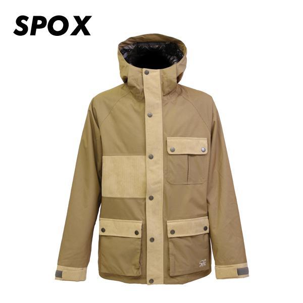 スキー スノーボード ウェア ジャケット メンズ レディース ユニセックス SPOX スポックス SPP-0410 カラーBG サイズS-XL