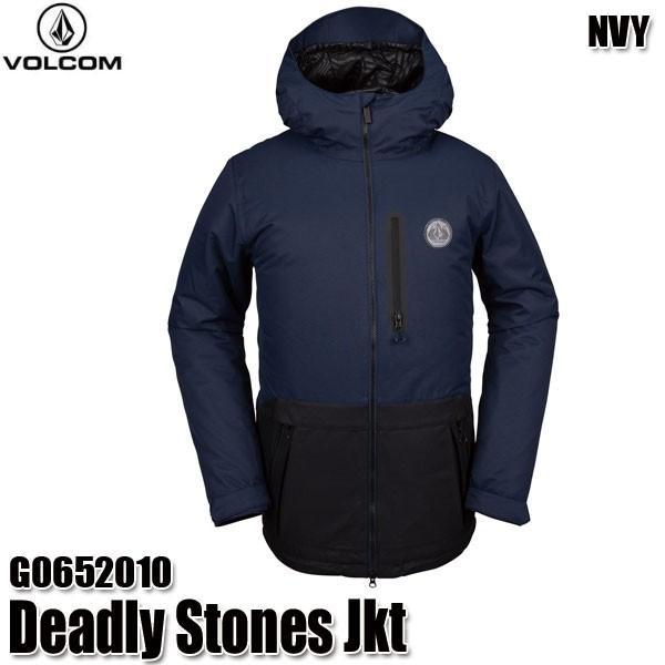 予約商品 19-20 ボルコム デッドリー ストーンズ ジャケット Volcom Deadly Stones Jkt G0652010 NVY スノーウェア メンズ 男性用 2020