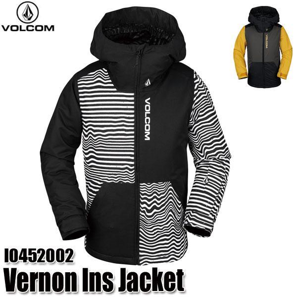 予約商品 19-20 ボルコム バーノン インサレーター ジャケット Volcom Vernon Ins Jacket I0452002 BKS/VBK スノーウェア ジュニア 子供用 2020