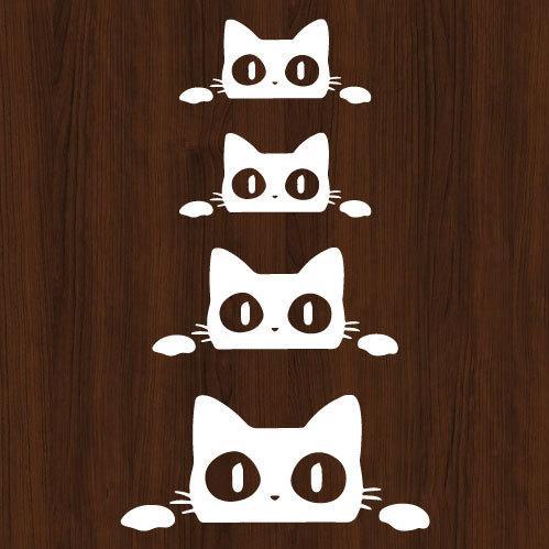 ウォールステッカー 猫 ネコ ねこ シール|bora|03