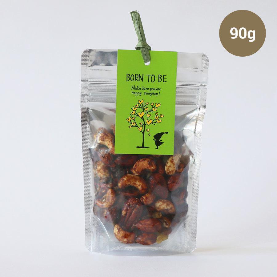 ナッツ Fruits+Nuts 90g ノンシュガー グルテンフリー 有機ナッツ 海の精|born-to-be|02