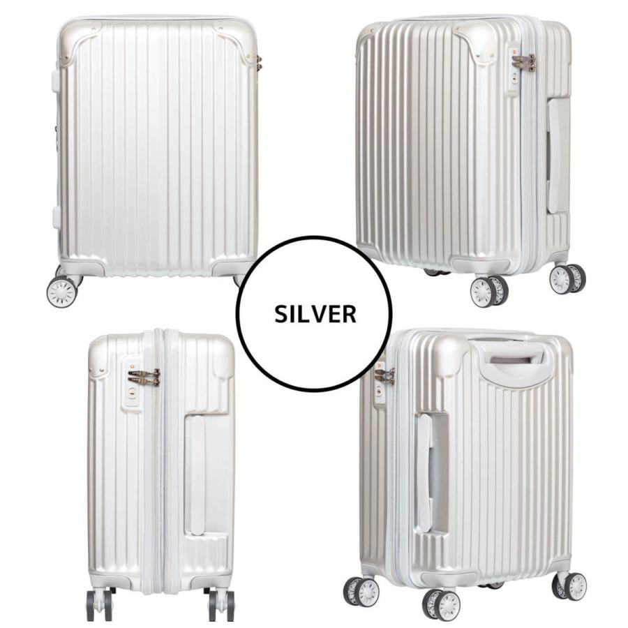 キャリーケース スーツケース Oscar Zipperシリーズ 19インチ機内持込対応拡張型ジッパータイプキャリーケース/723-470/全4色|borsa-uomo|03