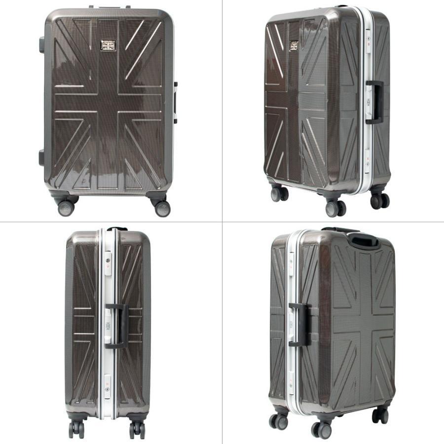 キャリーケース キャリーバッグ スーツケース Kangol Sport UK-IVR2 Frameシリーズ24インチ5泊以上用フレームタイプキャリーケース/カンゴール全4色850-8630r/|borsa-uomo|09
