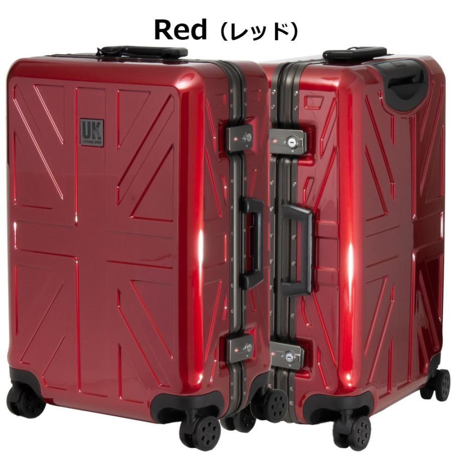 キャリーケース キャリーバッグ スーツケース KGSP-UK Latch Lock Frameシリーズ24インチフレームタイプスーツケース(全4色850-8641)|borsa-uomo|03